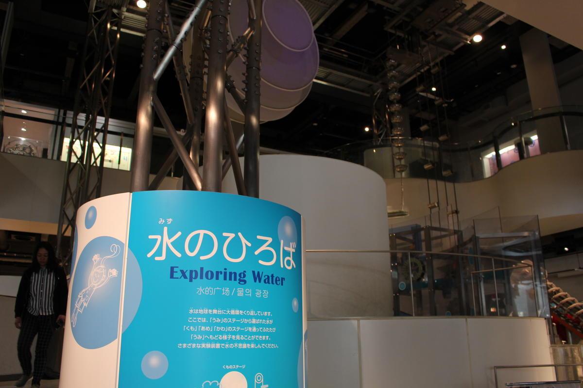 名古屋市科学館 水のひろば