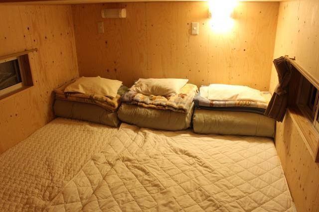 満願ビレッジ 二段ベッド