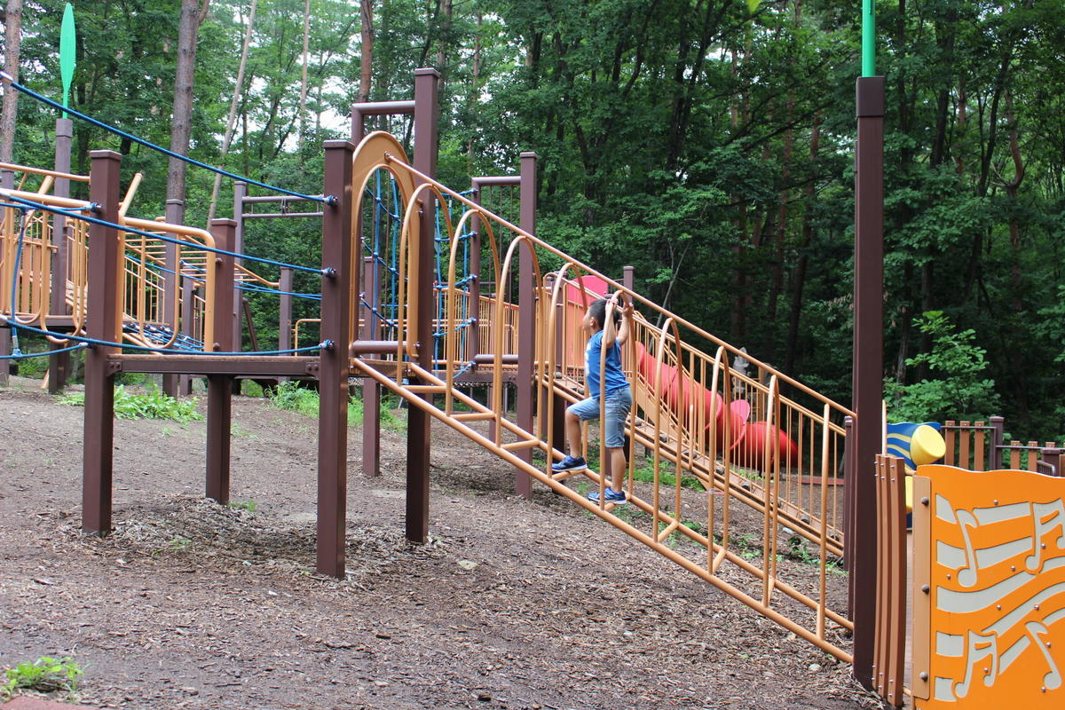 国営アルプスあづみの公園 遊具