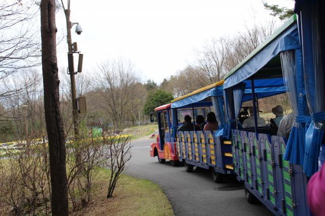国営アルプスあづみの公園 ロードトレイン