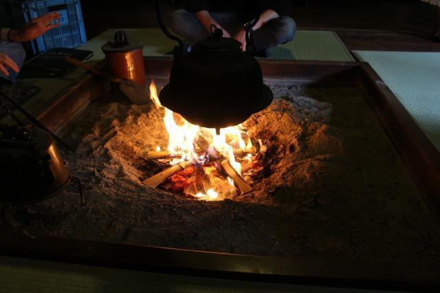 旧大戸家住宅 囲炉裏