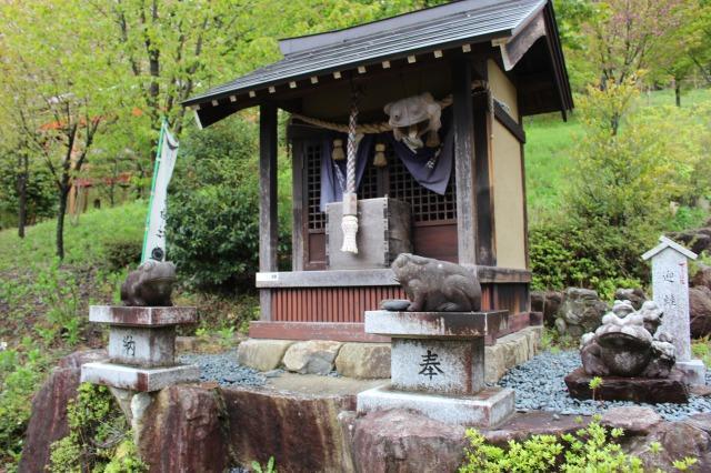 下呂温泉合掌村 かえる神社