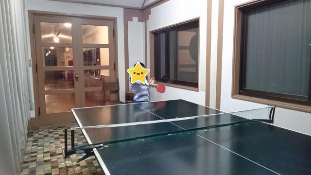 下呂温泉 湯之島館 卓球