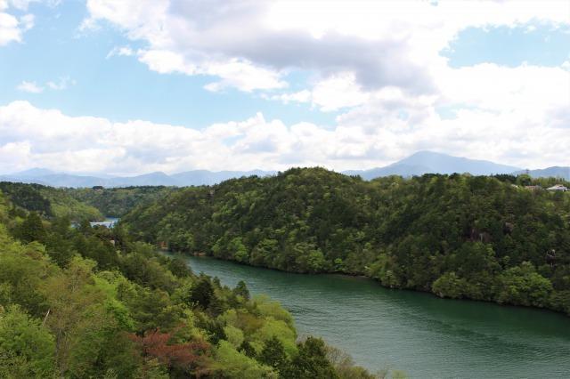 恵那峡 展望台からの眺め