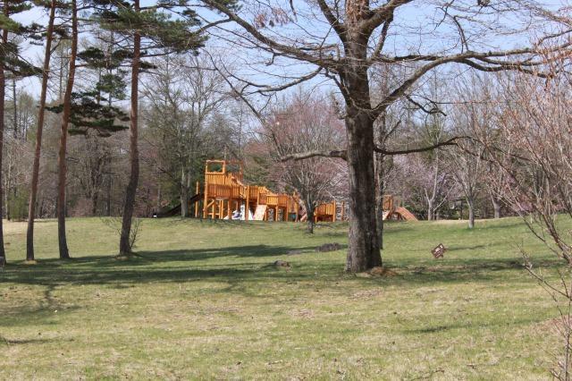 清里の森 パークゴルフ 遊具