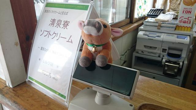 清泉寮 ソフトクリームの売店