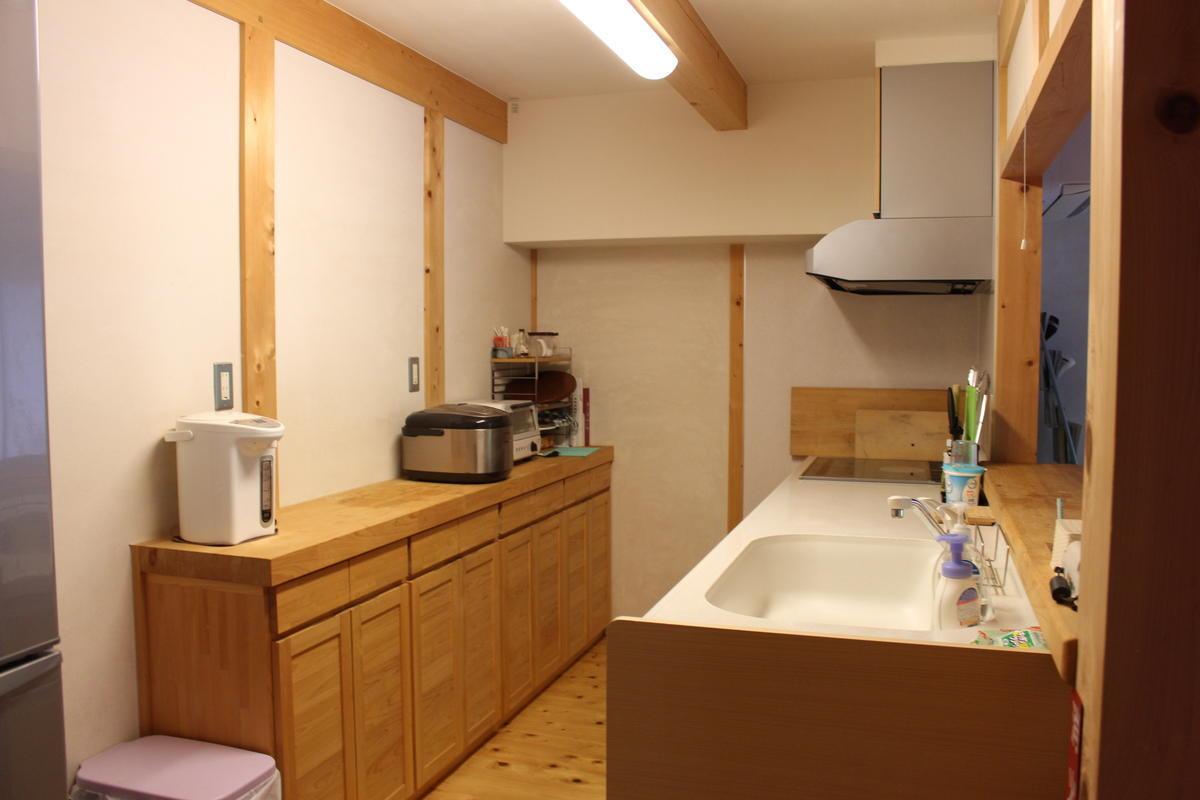 四万十ヒノキの家 キッチン