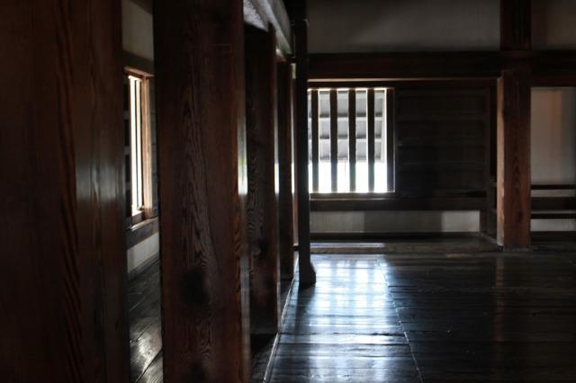 松山城 内部