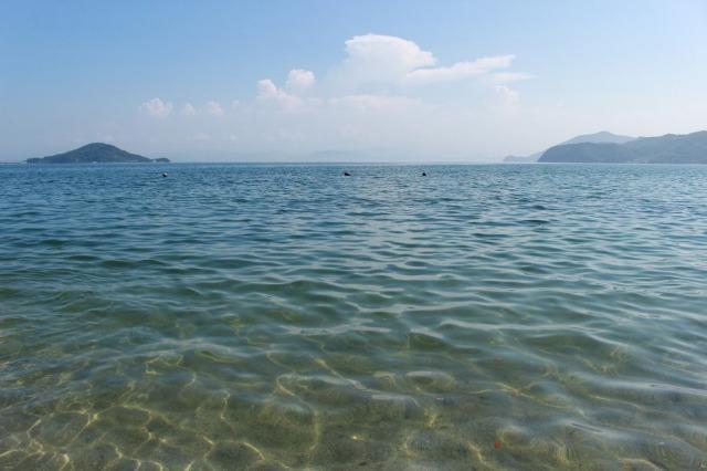 オリーブビーチ 海