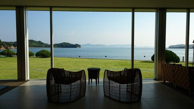 小豆島国際ホテル ロビー