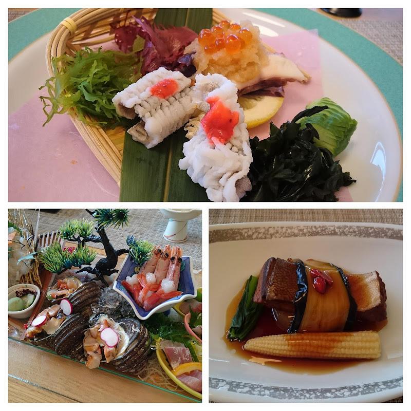 小豆島国際ホテル 夕食