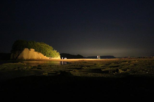 小豆島 エンジェルロード ライトアップ