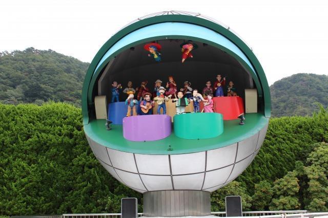 東武ワールドスクウェア ミュージックモニュメント