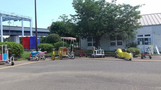 若洲海浜公園 おもしろ自転車