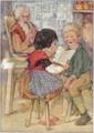 Heidi by Johanna Spyri as illustrated by Anne Anderson