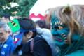 『京都新聞写真コンテスト京都廬山寺子供と青鬼その1』