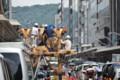 『京都新聞写真コンテスト祇園祭長刀鉾鉾建て2』