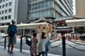 『京都新聞写真コンテスト祇園祭長刀鉾鉾建て1 』