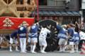 『京都新聞写真コンテスト祇園祭月鉾祭の終わり 』
