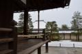 京都新聞写真コンテスト  天龍寺 回廊と残雪