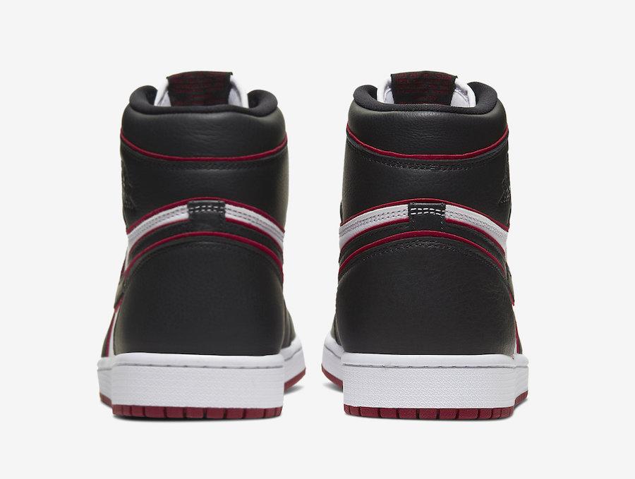 NIKE AIR JORDAN 1 HIGH OG BLOODLINE BLACK RED 555088-062