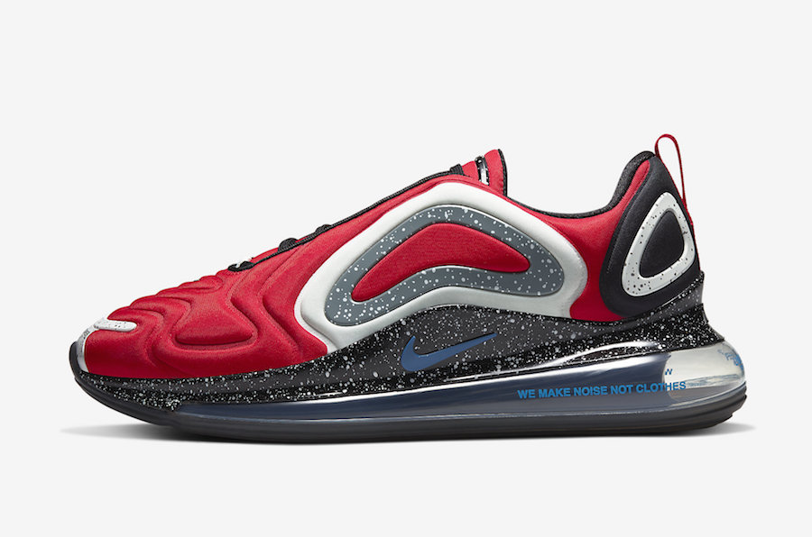 NIKE AIR MAX 720 UNDERCOVER UNIVERSITY RED CN2408-600