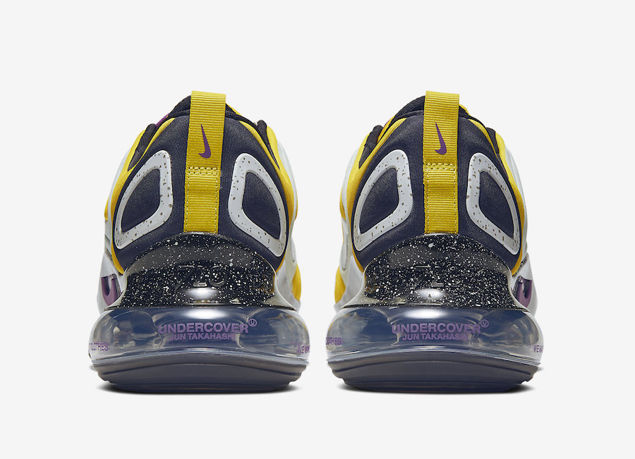 NIKE AIR MAX 720 UNDERCOVER BRIGHT CITRON CN2408-700