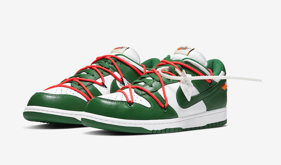 NIKE DUNK LOW OFF-WHITE PINE GREEN CT0856-100