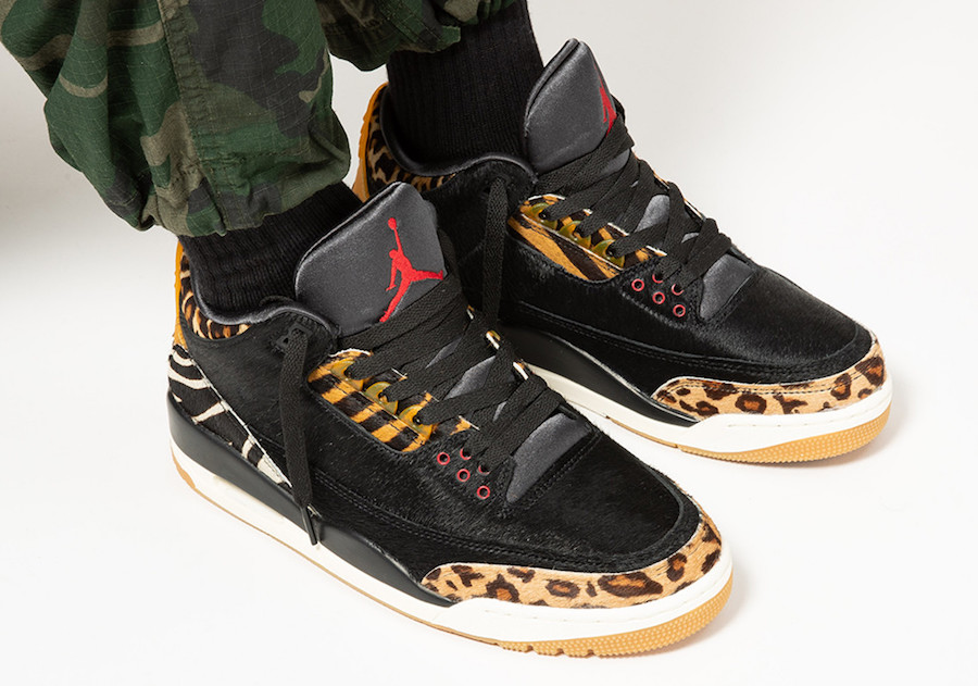 NIKE AIR JORDAN 3 ANIMAL INSTINCT CK4344-002