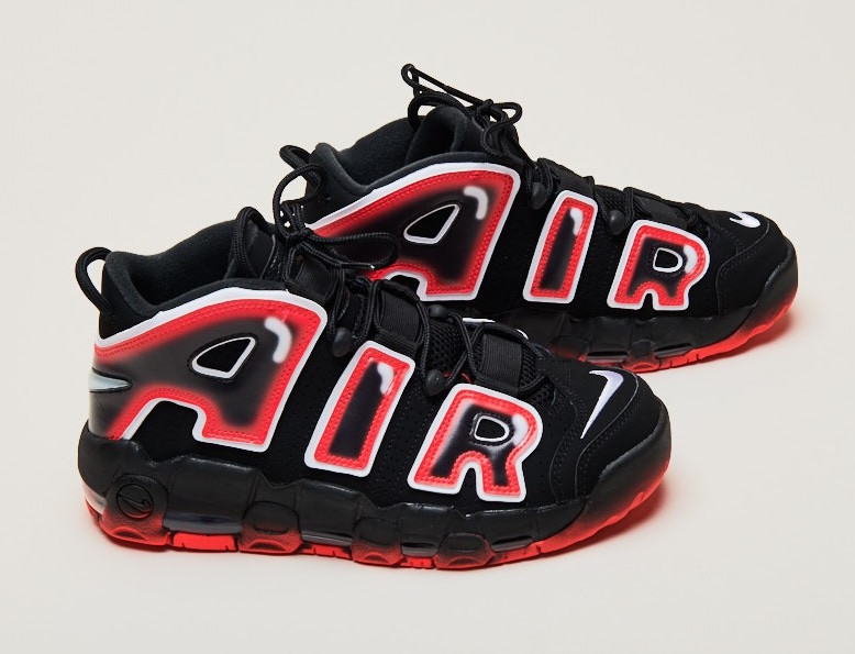 NIKE AIR MORE UPTEMPO LASER CRIMSON CJ6129-001