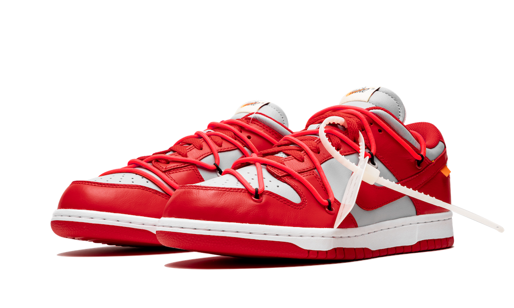NIKE DUNK LOW OFF-WHITE UNIVERSITY RED CT0856-600