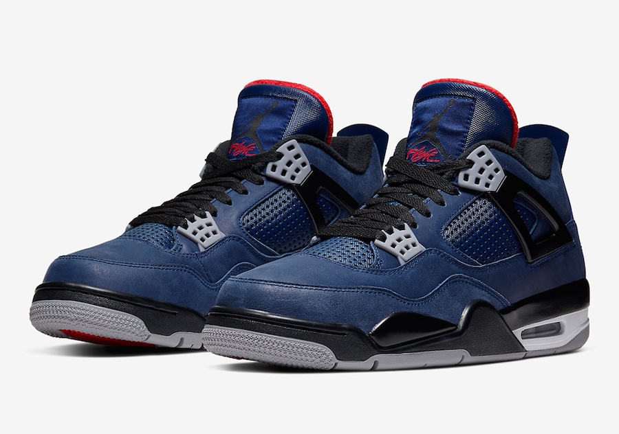 NIKE AIR JORDAN 4 WINTERIZED WNTR LOYAL BLUE CQ9597-401