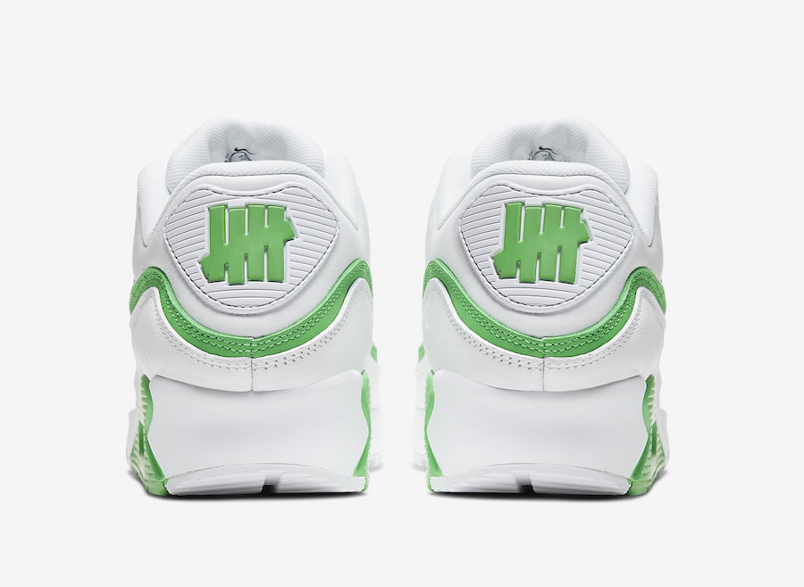 NIKE AIR MAX 90 UNDEFEATED WHITE/GREEN SPARK CJ7197-104