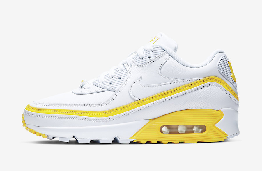 NIKE AIR MAX 90 UNDEFEATED WHITE/OPTI YELLOW CJ7197-101