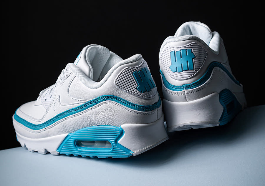NIKE AIR MAX 90 UNDEFEATED WHITE/BLUE FURY CJ7197-102