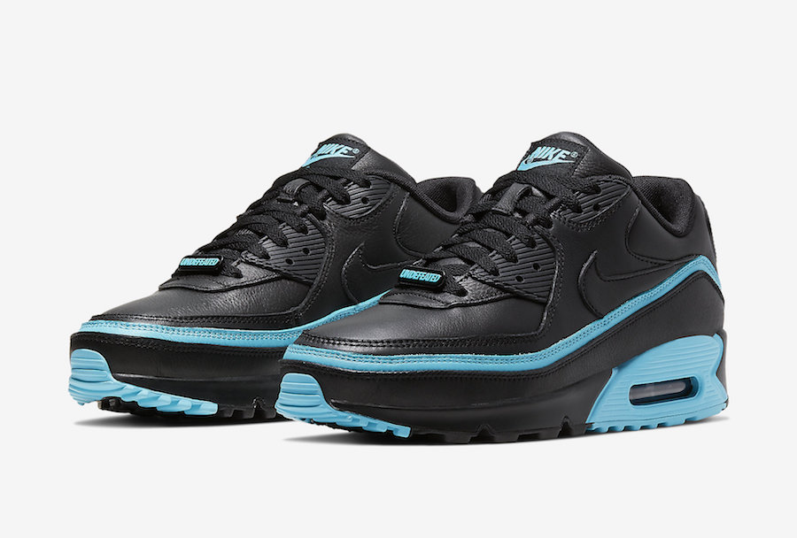 NIKE AIR MAX 90 UNDEFEATED BLACK/BLUE FURY CJ7197-002