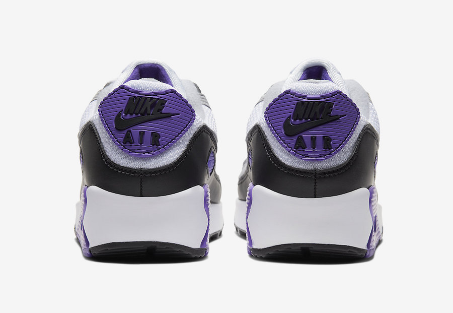 NIKE AIR MAX 90 HYPER GRAPE/PARTICLE GREY CD0881-104