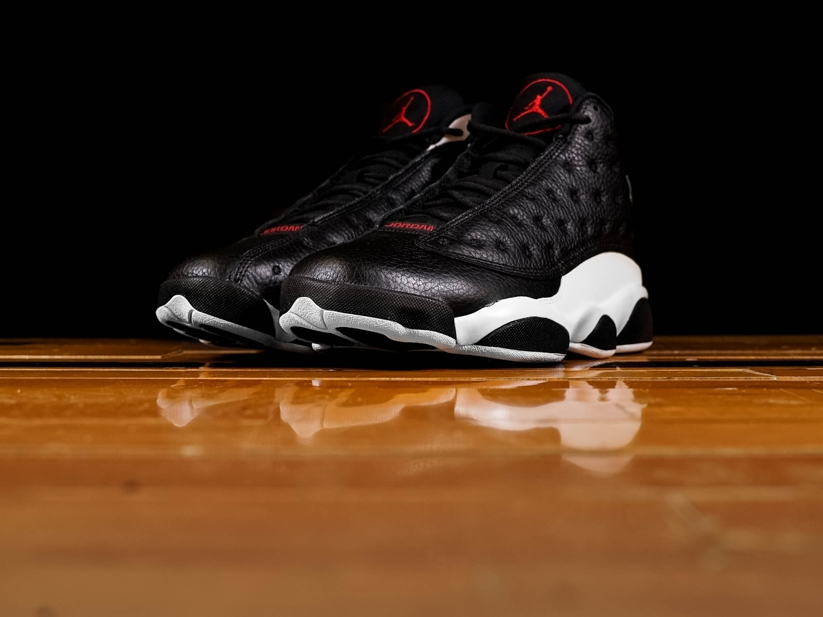 NIKE AIR JORDAN 13 REVERSE HE GOT GAME BLACK/GYM RED 414571-061