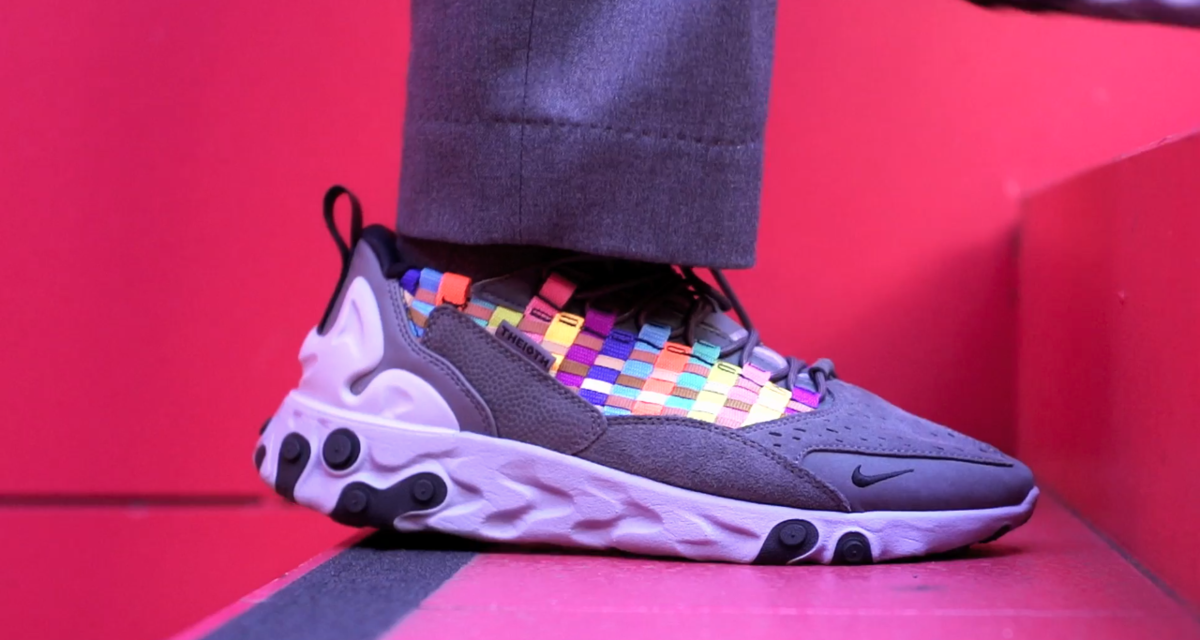 NIKE REACT SERTU 10TH COLLECTION FOR SOPH. 6453+7674. AT5301-004
