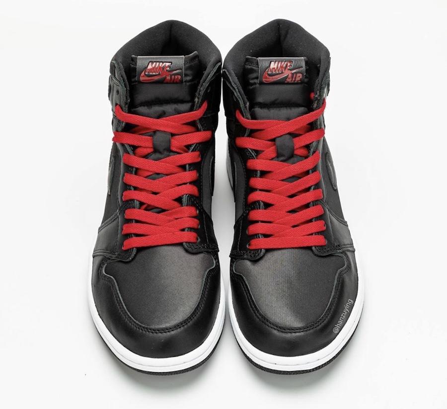NIKE AIR JORDAN 1 HIGH BLACK/GYM RED 555088-060
