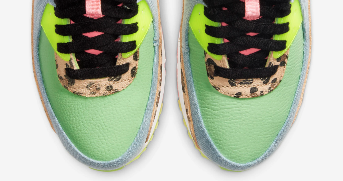NIKE WMNS AIR MAX 90 ILLUSION GREEN CW3499-300