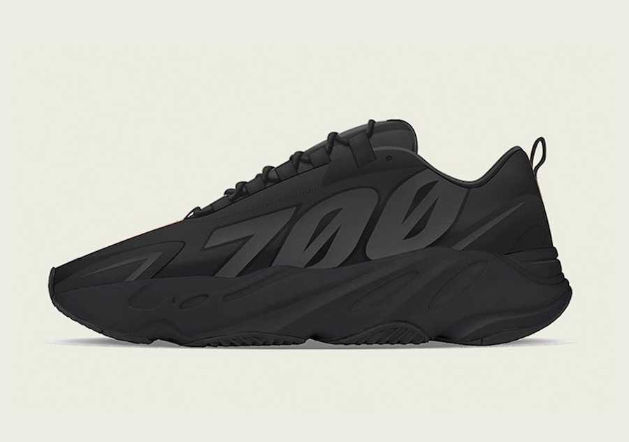 ADIDAS ORIGINALS YEEZY BOOST 700 MNVN BLACK FV4440
