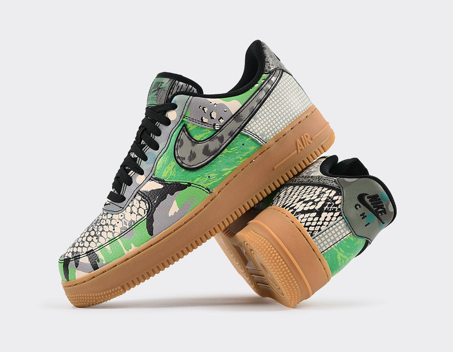 NIKE AIR FORCE 1 LOW CITY OF DREAMS GREEN SPARK CT8441-002