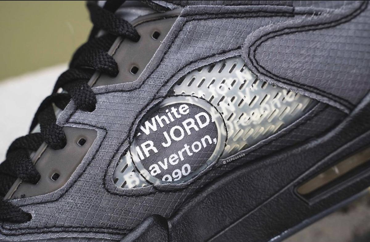 NIKE AIR JORDAN 5 OFF-WHITE VIRGIL ABLOH CT8480-001
