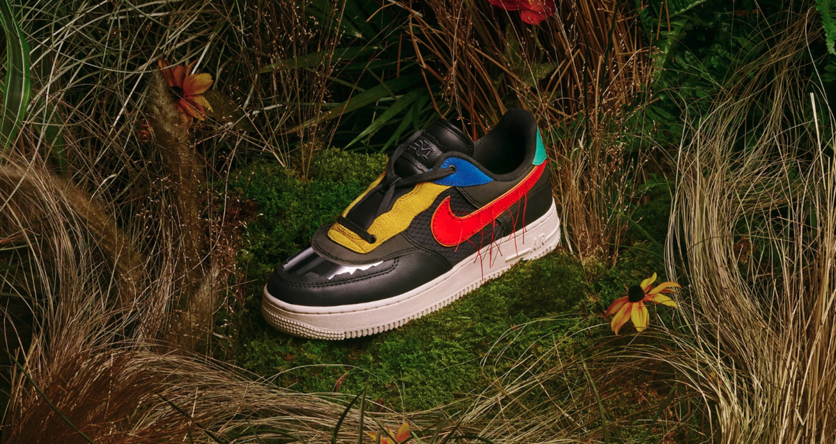 NIKE AIR FORCE 1 LOW BHM DARK SMOKE GREY CT5534-001