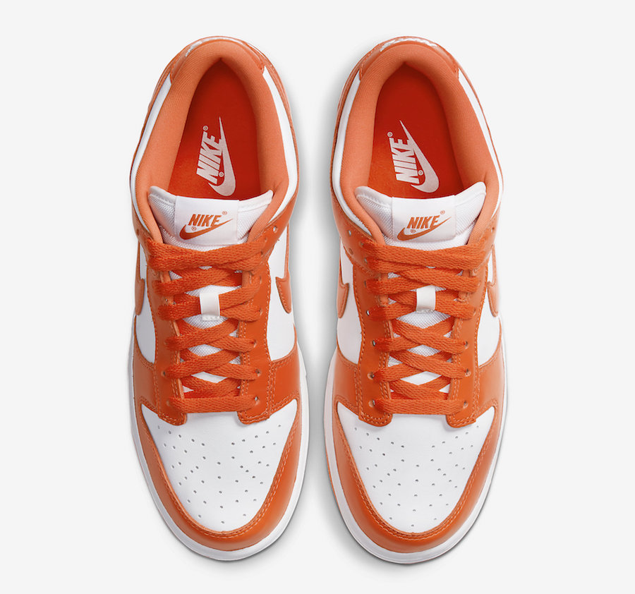 NIKE DUNK LOW SYRACUSE ORANGE BLAZE BE TRUE TO YOUR SCHOOL CU1726-101