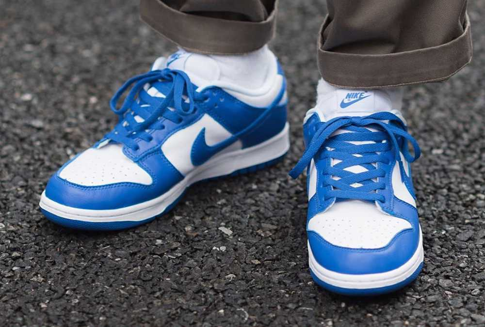 NIKE DUNK LOW KENTUCKY VARSITY ROYAL BE TRUE TO YOUR SCHOOL CU1726-100