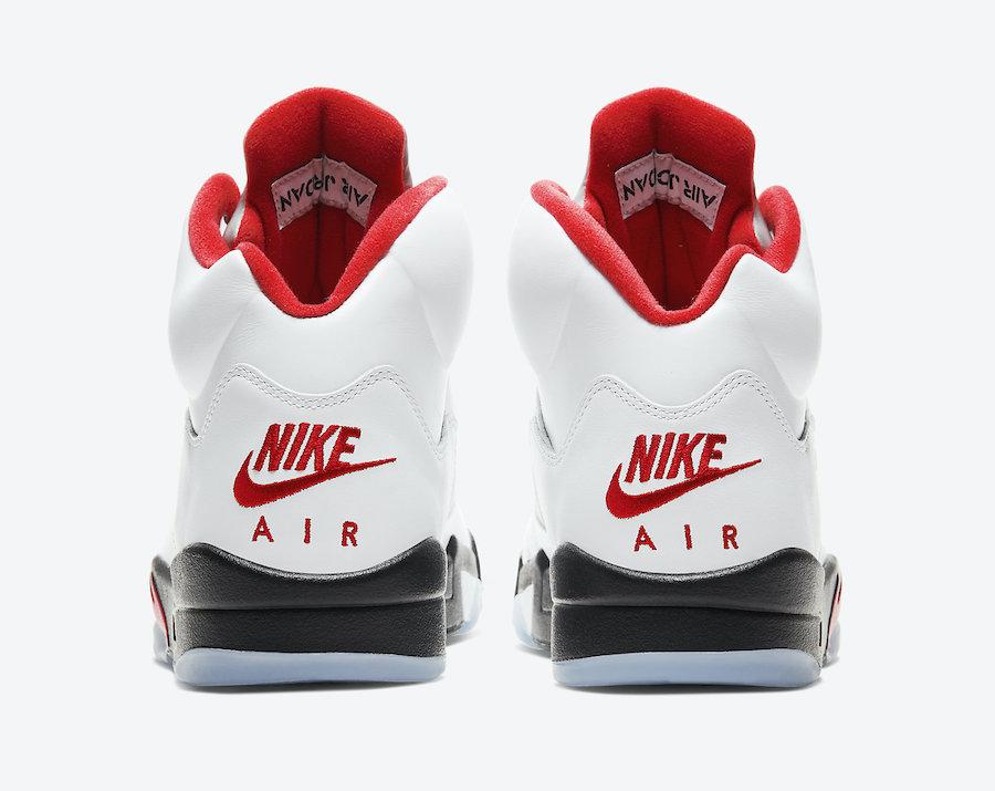NIKE AIR JORDAN 5 OG WHITE/FIRE RED ナイキ エアジョーダン5 OG ホワイト/ファイヤーレッド CT4838-102