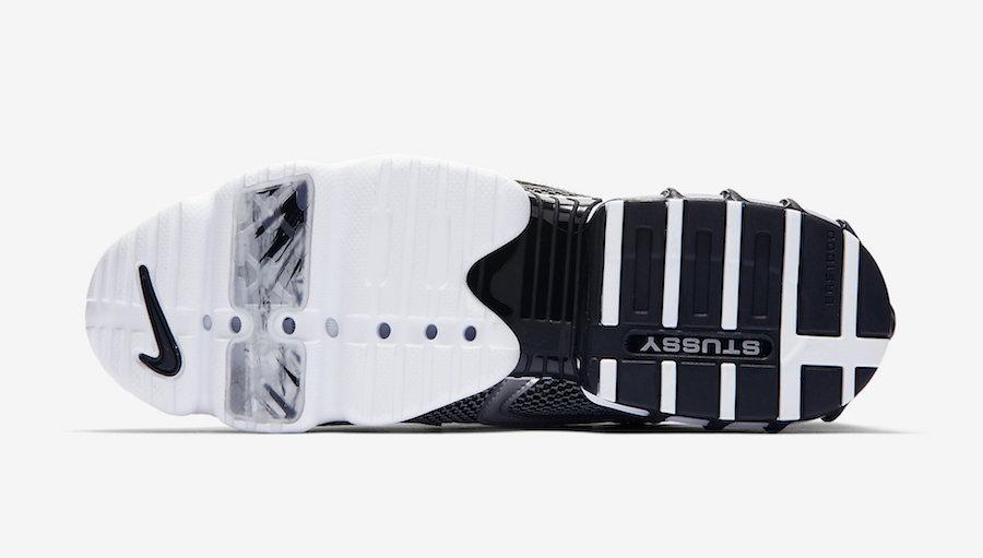 STUSSY × NIKE AIR ZOOM SPIRIDON CAGE 2 PURE PLATINUM ステューシー × ナイキ エアズーム スピリドン ケージ2 ピュアプラチナ CU1854-001