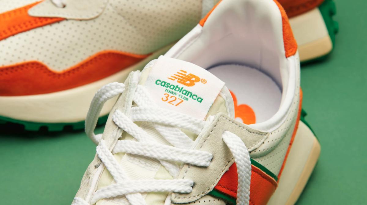 NEW BALANCE 327 CASABLANCA TENNIS CLUB ORANGE ニューバランス 327 カサブランカ テニス クラブ オレンジ